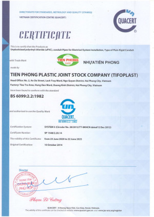 GCN Ống uPVC ISO 1452-2:2009